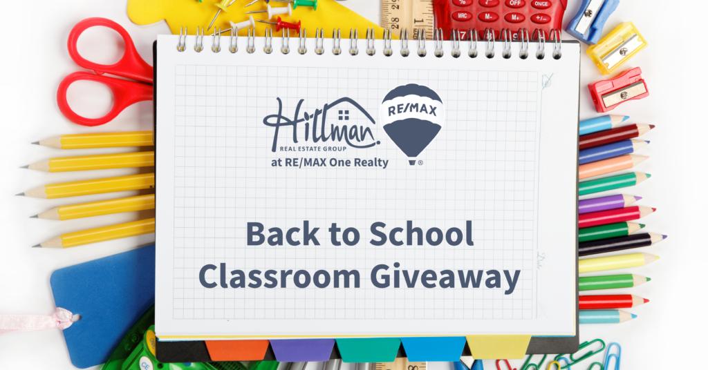 HREG's back to school classroom giveaway