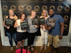 Tower Escape Downtown Raleigh - Hillman Real Estate Group Team Building