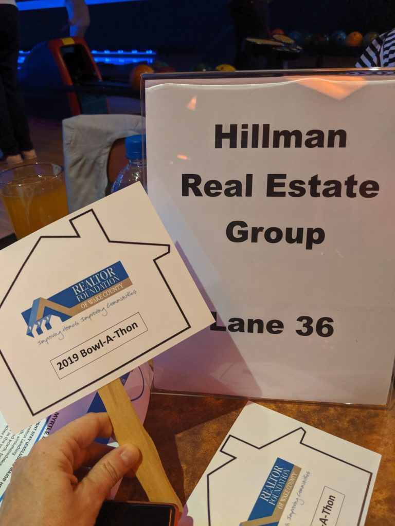Hillman Real Estate Group - Strike out Homelessness hosted by RRAR Foundation of Wake County - 03