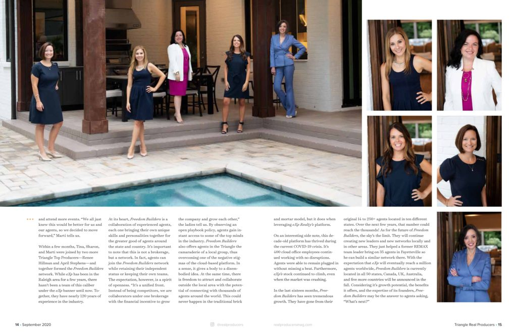 Hillman Real Estate Group's Renee Hillman Featured in Triangle Real Producers Magazine - Inside 03