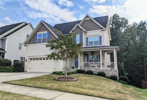 209 Sweet Violet Drive Holly Springs NC 27540 Hillman Real Estate Group at eXp Realty - Exterior Front