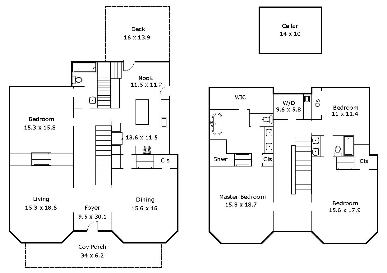 2708 Olive Chapel Road - Floor Plan