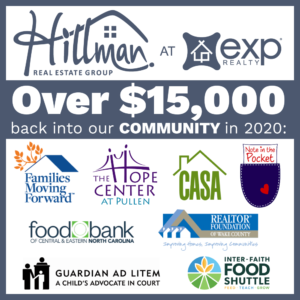 Hillman Real Estate Group in the Community: Charity Donations