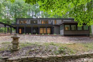 3200 Doubleday Place - Modernist Home of the Month at Hillman Real Estate Group Back View
