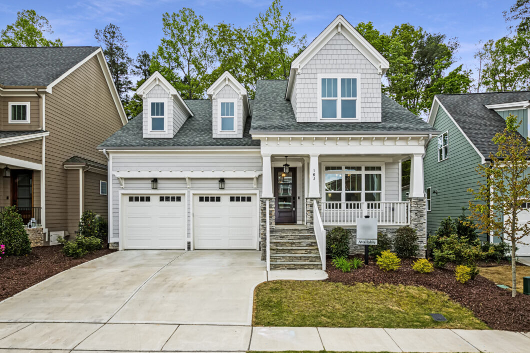 163 Bluffwood Chapel Hill NC 27516 Briar Chapel for Sale By Hillman Real Estate Group at eXp Realty - Front Exterior