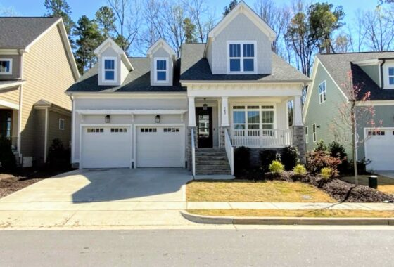 163 Bluffwood Chapel Hill NC 27516 Listed by Hillman Real Estate Group at eXp Realty - Exterior Front