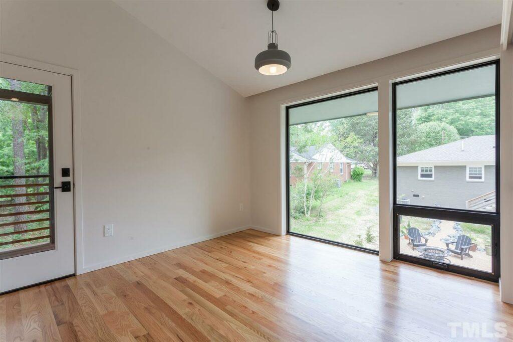115 Oak Street Carrboro Hillman Real Estate Group guest house bedroom