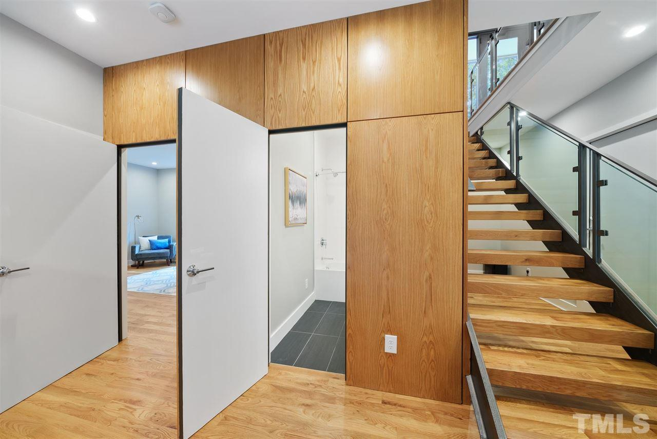 Hillman Real Estate Group's Modernist Home of the Month- 5406 Parkwood Drive Raleigh Hidden Room