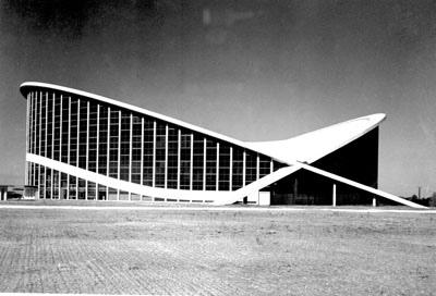 Dorton Arena Modernist Design