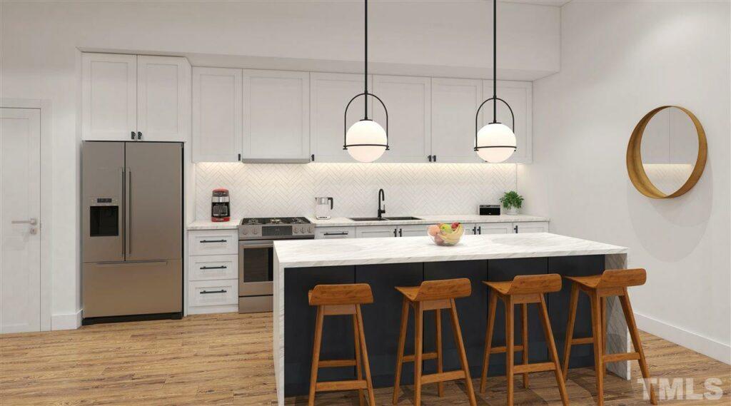 615 Daniels Street designer kitchen