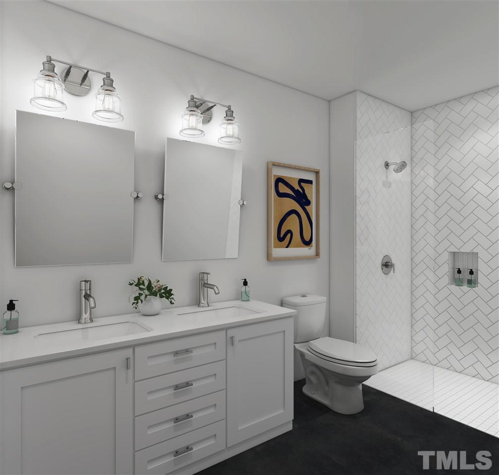 The Stephenson bathroom